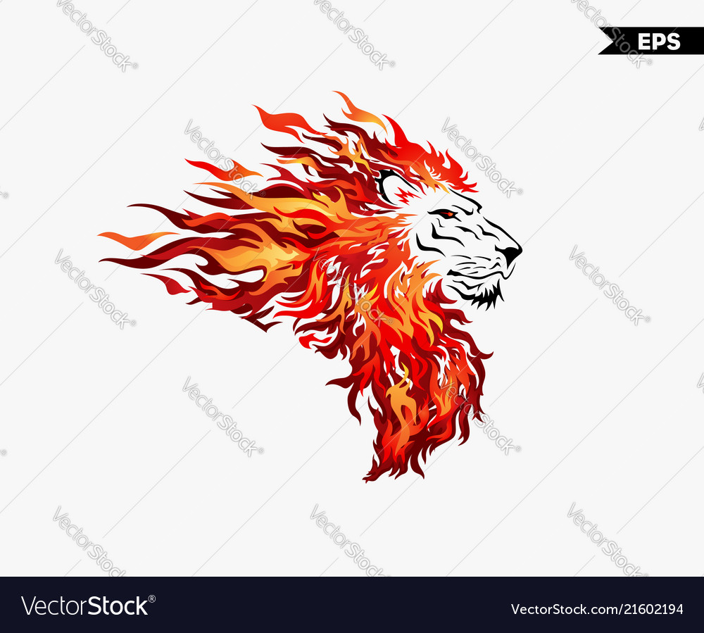 Lion head fire
