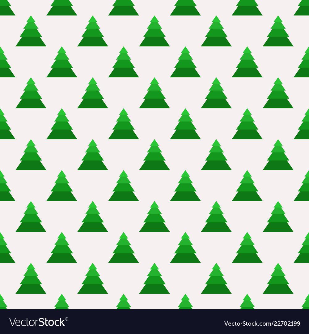 Christmas seamless pattern with geometrical