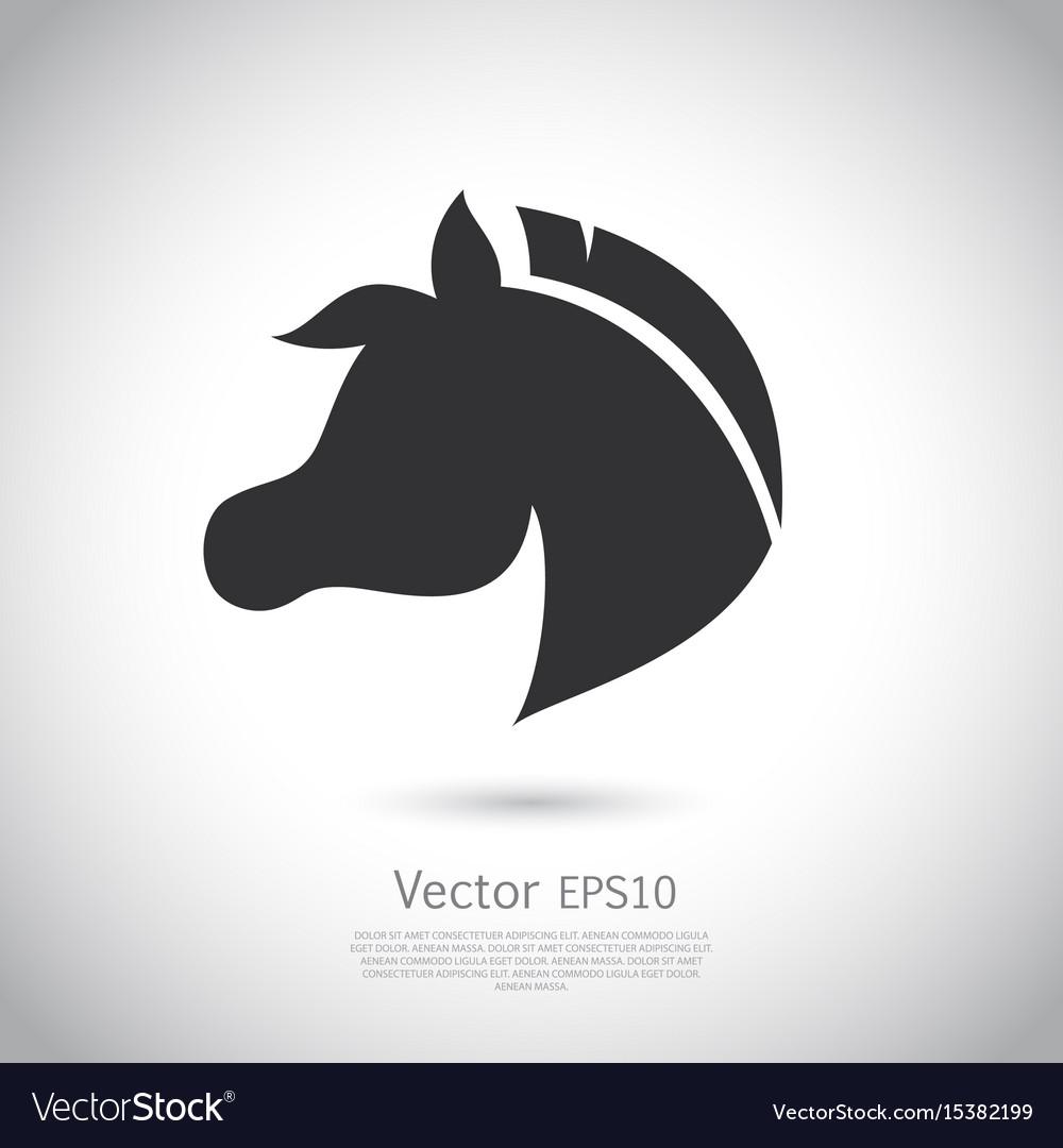 Sign horse logo
