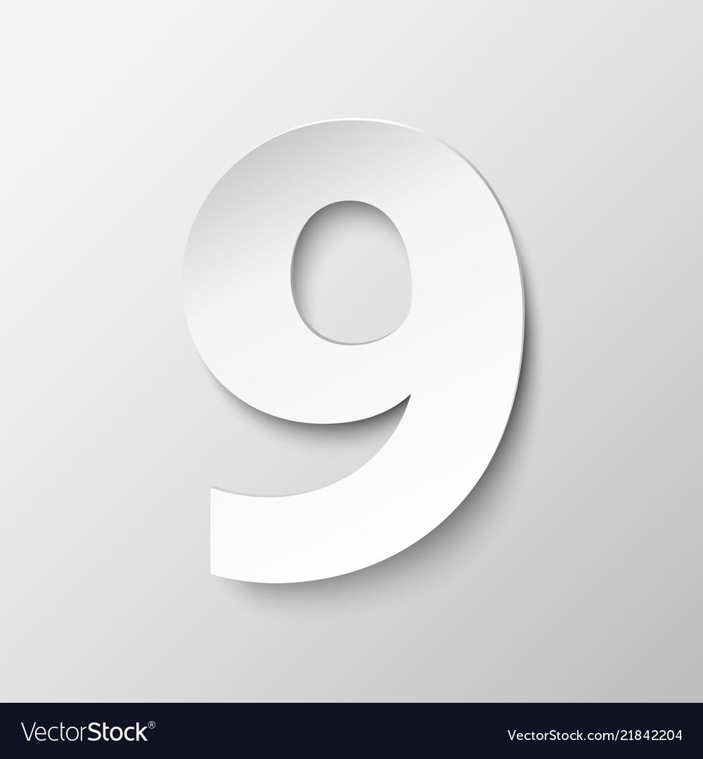 Paper number nine