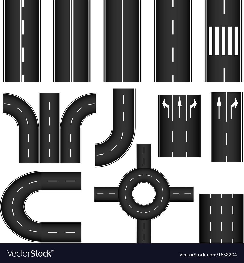 Road element set