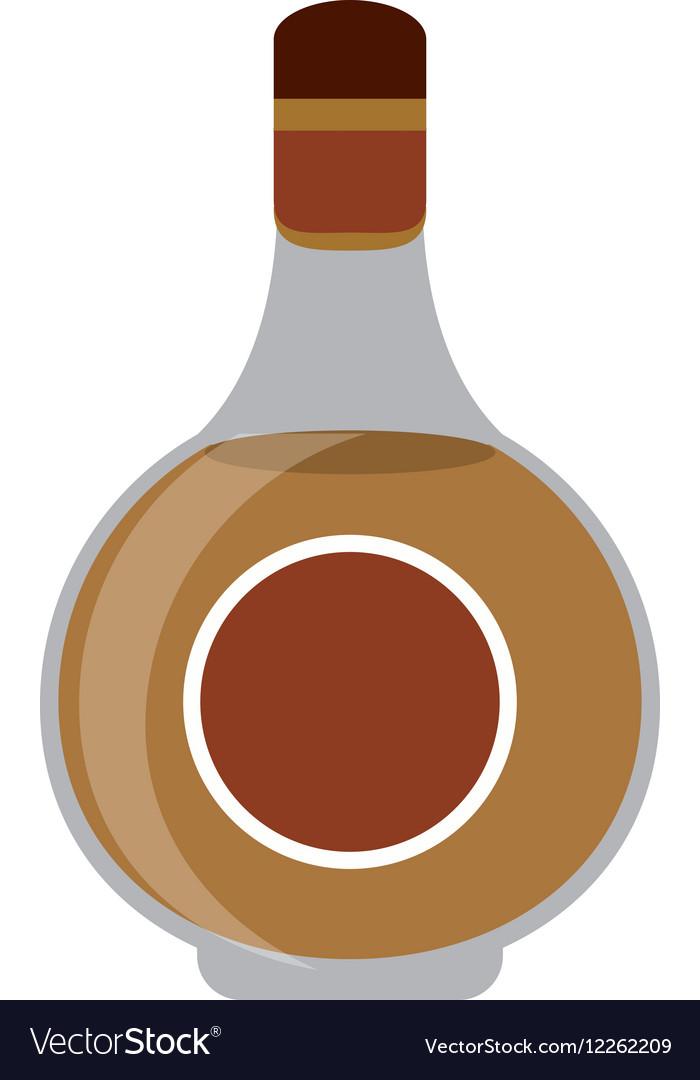 Cognac bottle alcochol drink style