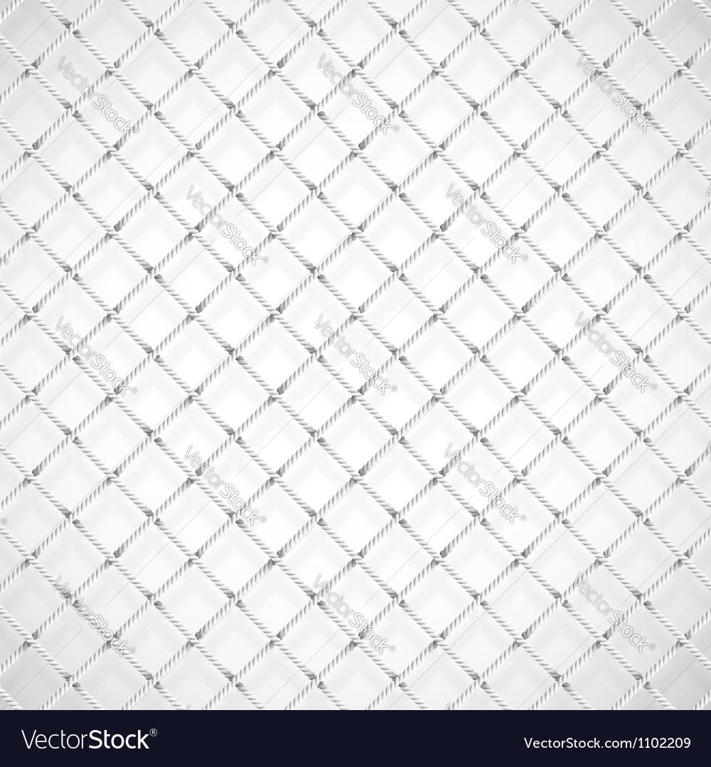 Football goal net vector image
