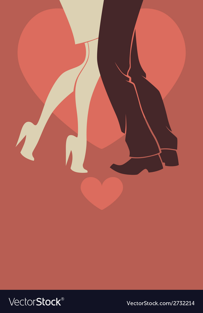 Romantic dancing