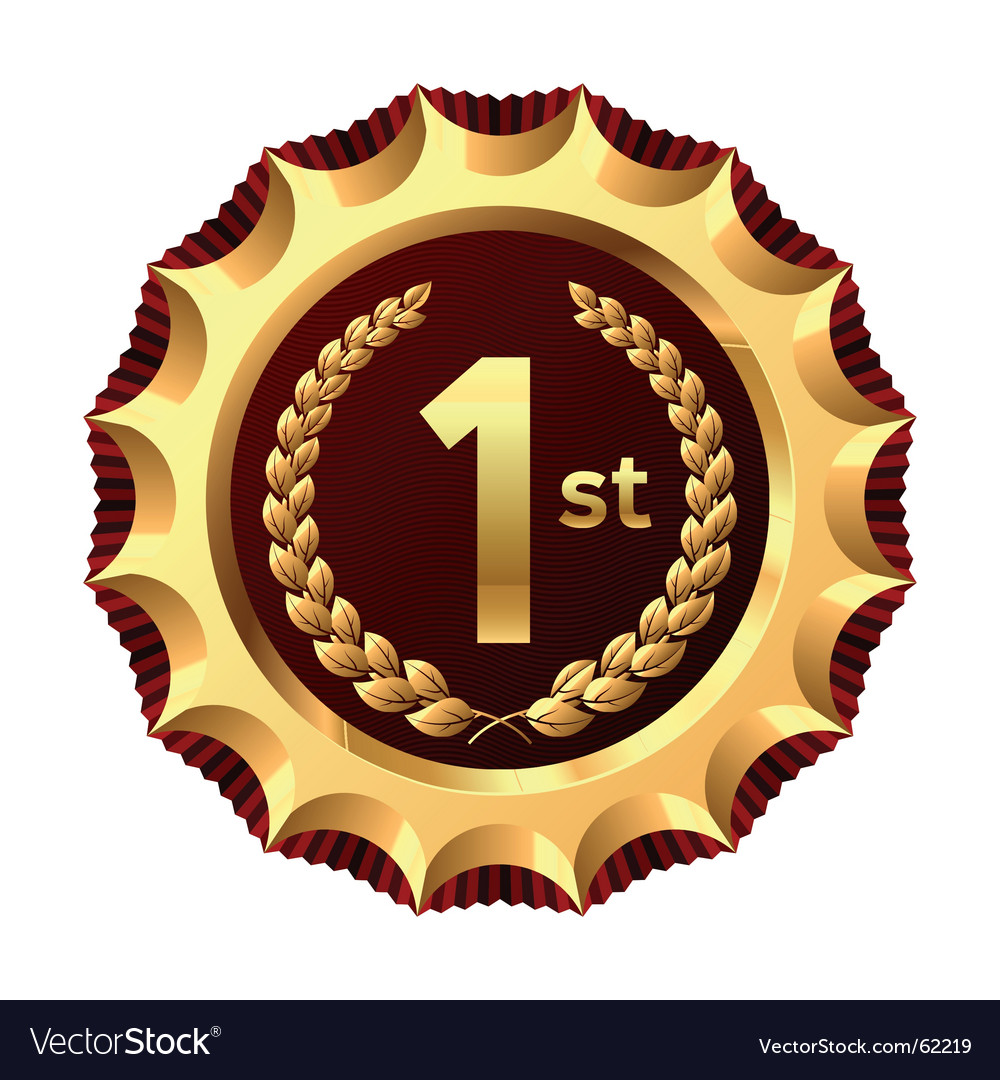 Award for winner vector image