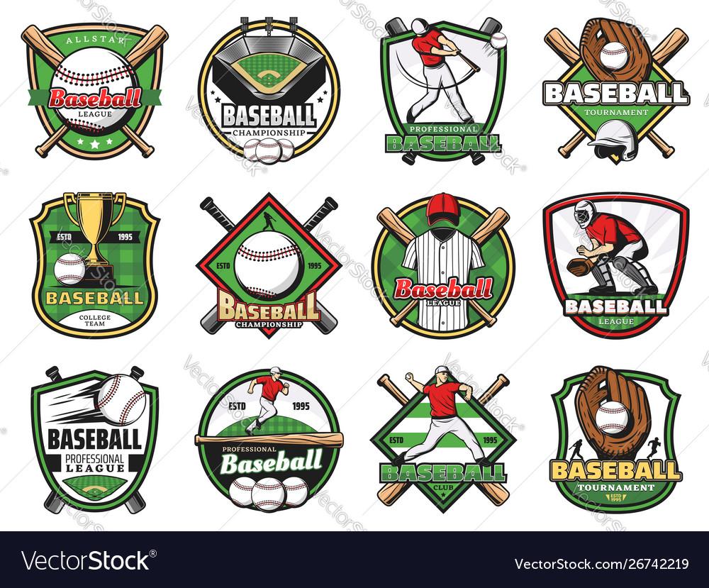 Baseball sport balls bats players stadium field