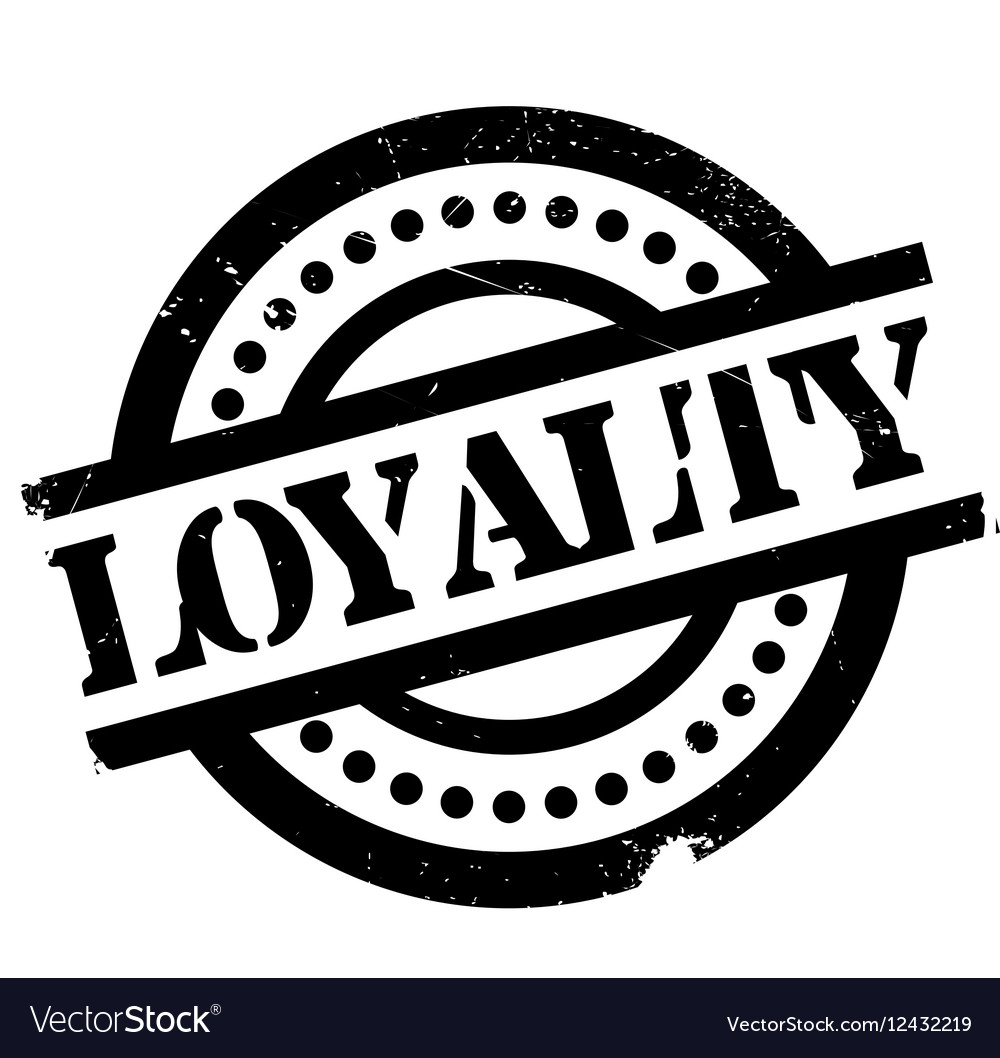 Loyalty Rubber Stamp Vector Image