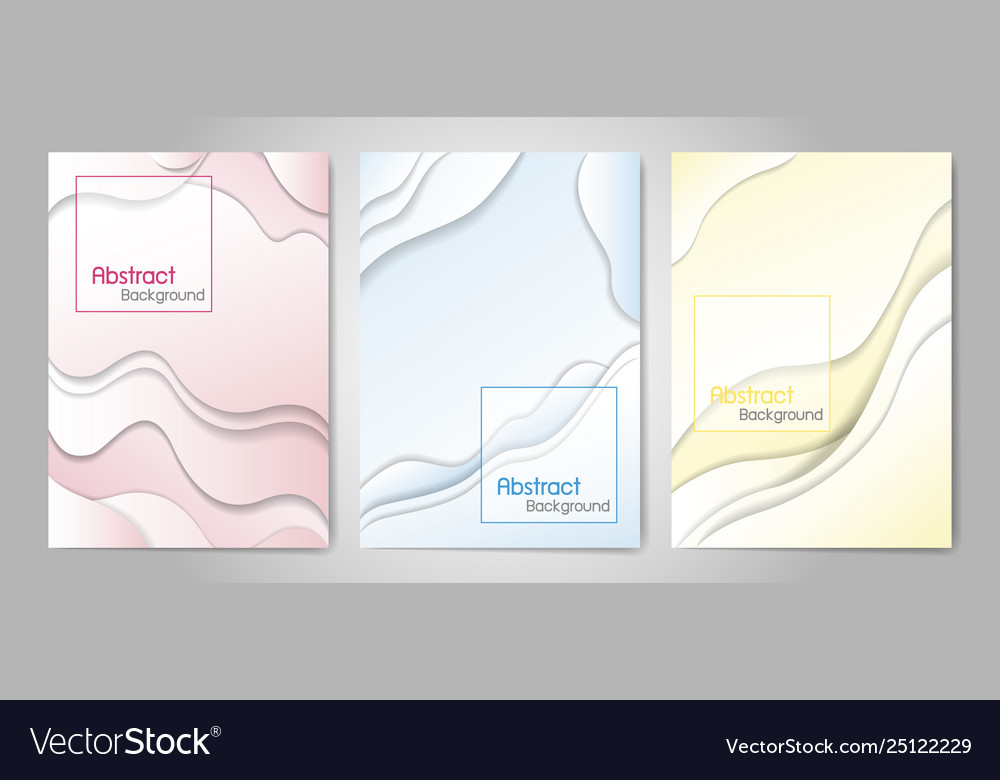 Abstract fluid color background