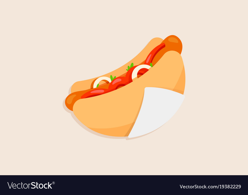 Super delicious hot dog