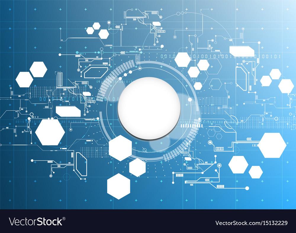 Technological abstract modern light digital