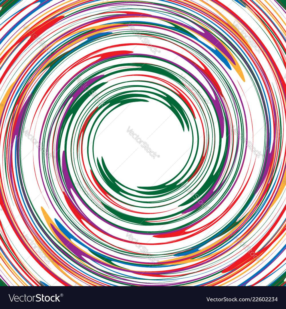 Rotating spiral element abstract swirl vortex