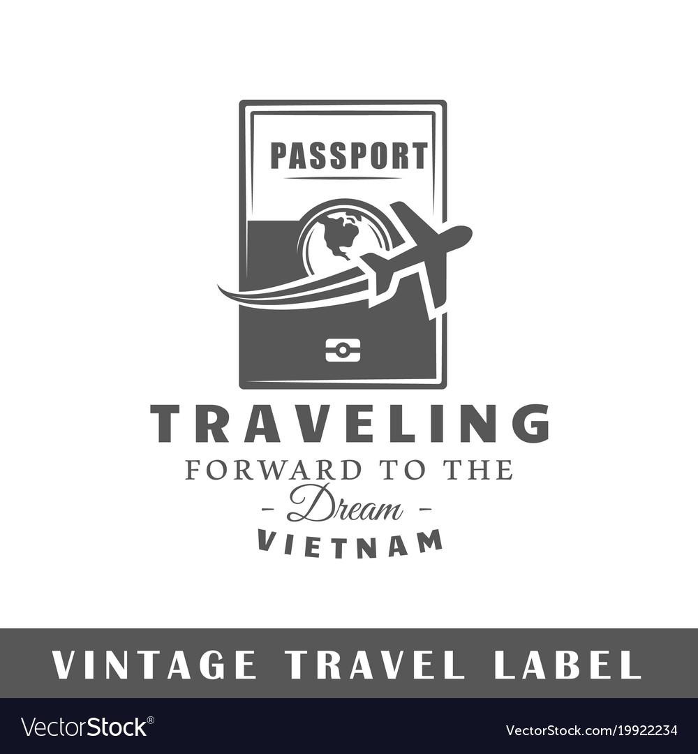 Travel label