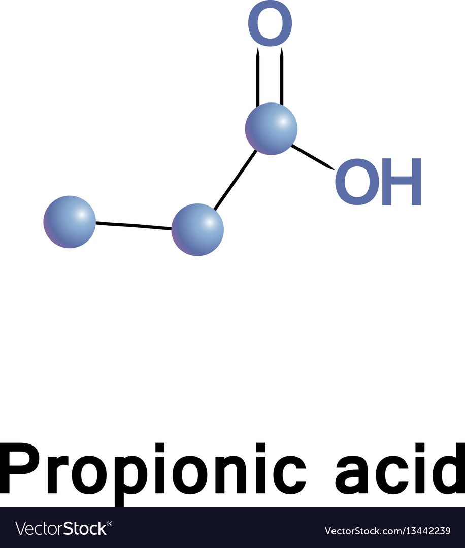 Propionic or propanoic acid