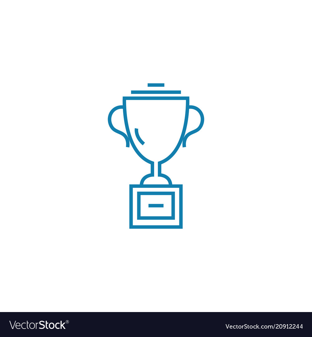 Award for success linear icon concept award for