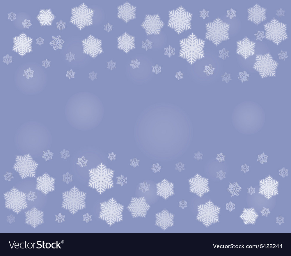 Dark Christmas snowflakes background