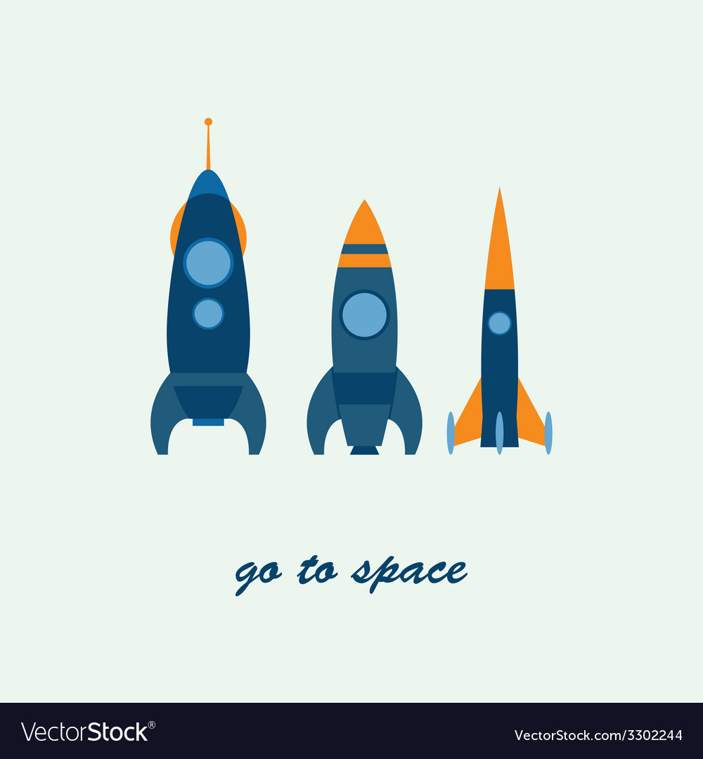 Rocket go to space