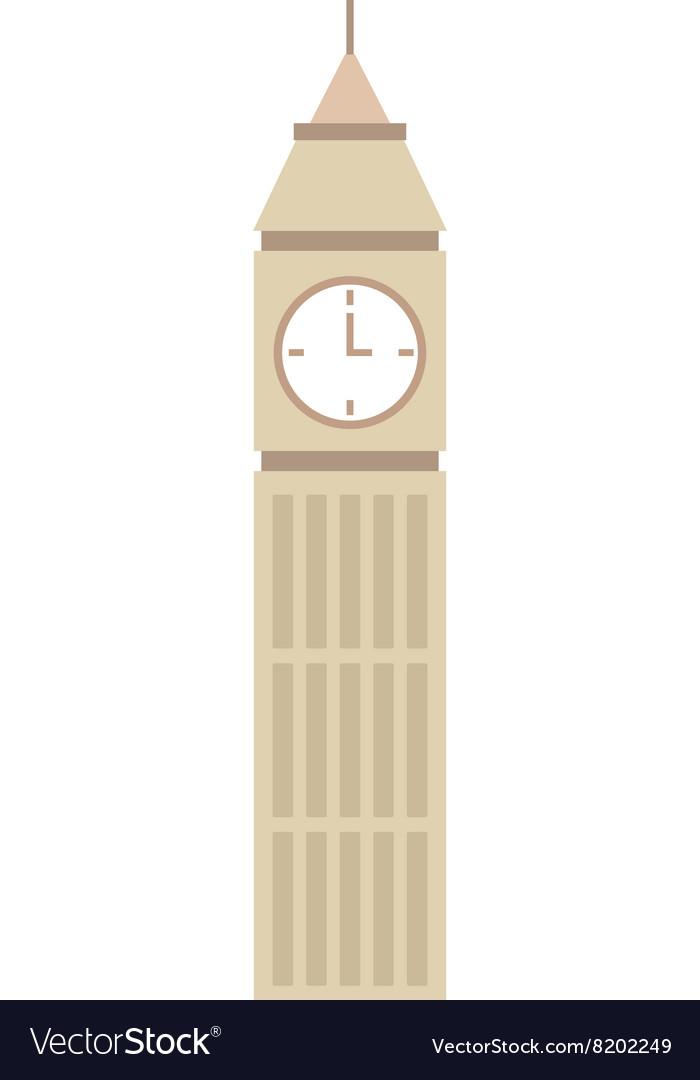 Big ben clock symbol of London