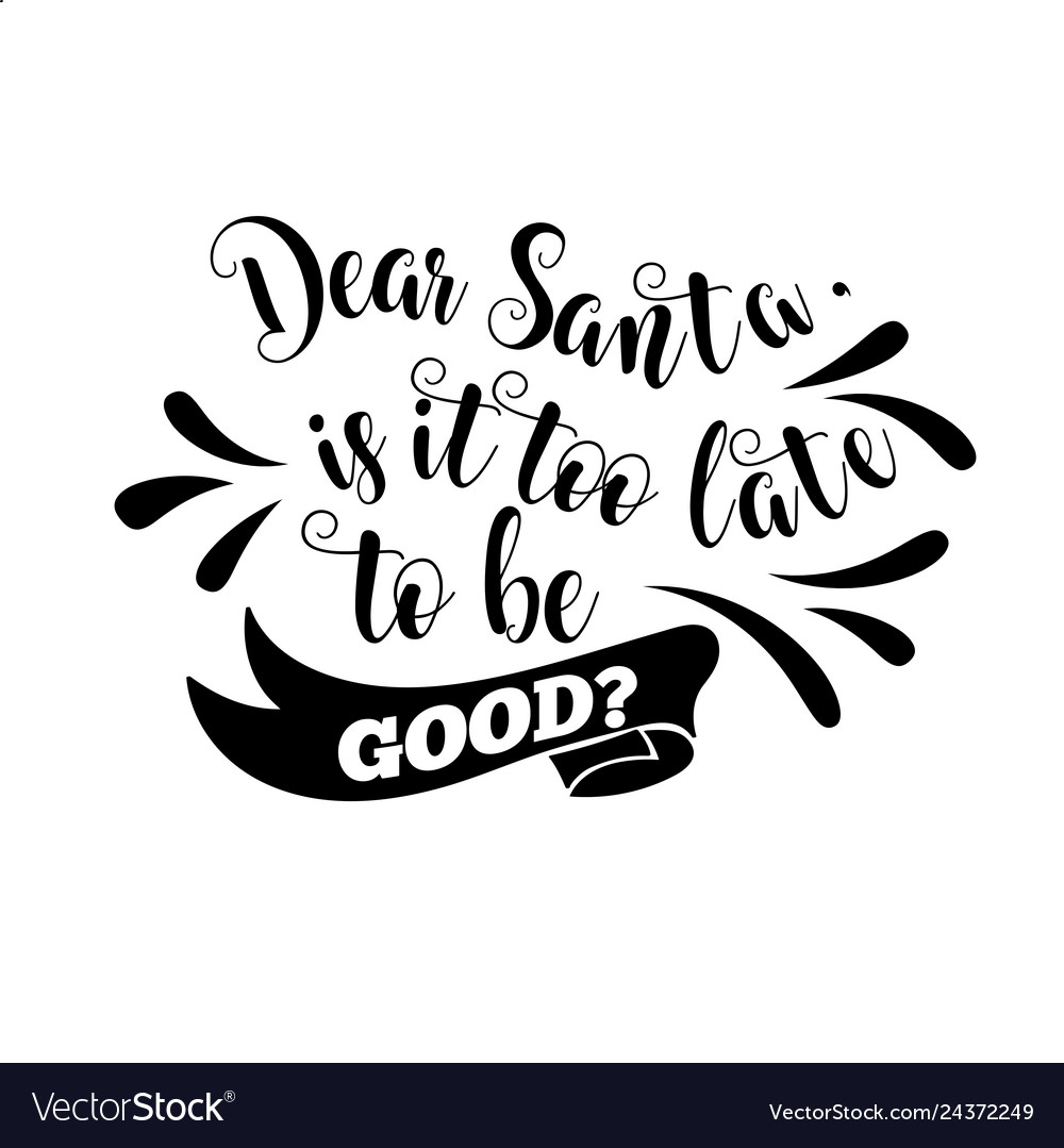 christmas quote Royalty Free Vector Image