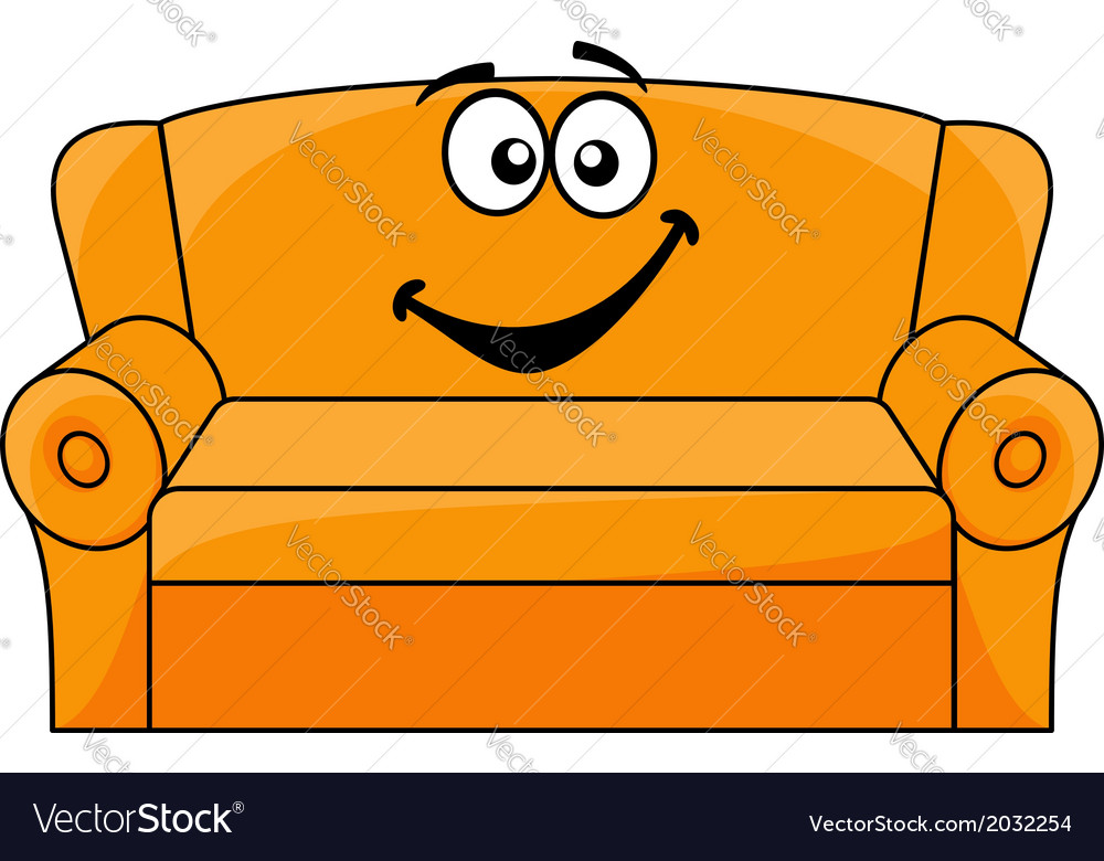 Sofa Comic Jumping On The Cartoons And Comics Funny