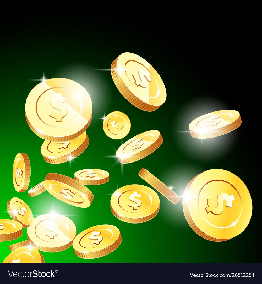 Explosion gold coins casino fortune and