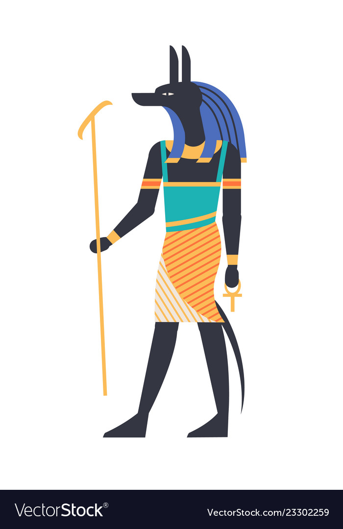 Anubis - god of afterlife patron deity or