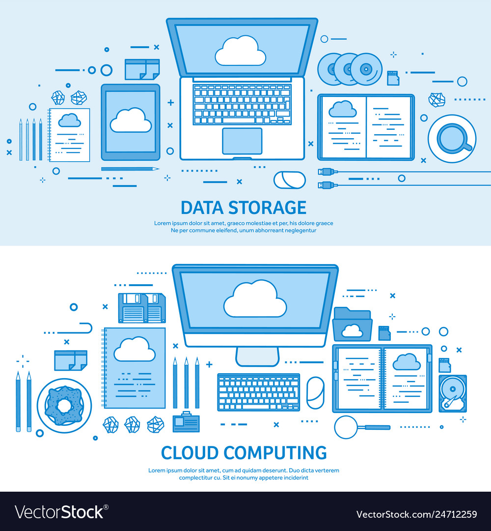 Cloud computing media data server web storage