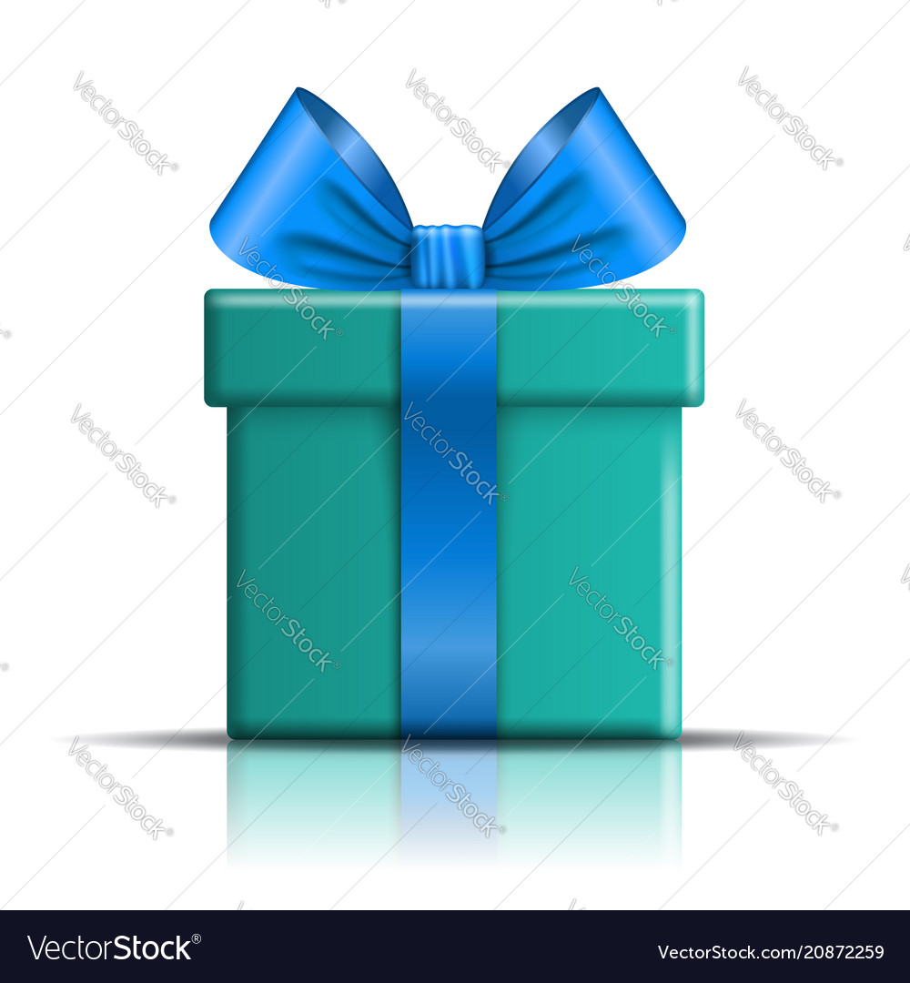 Gift box icon open surprise present template