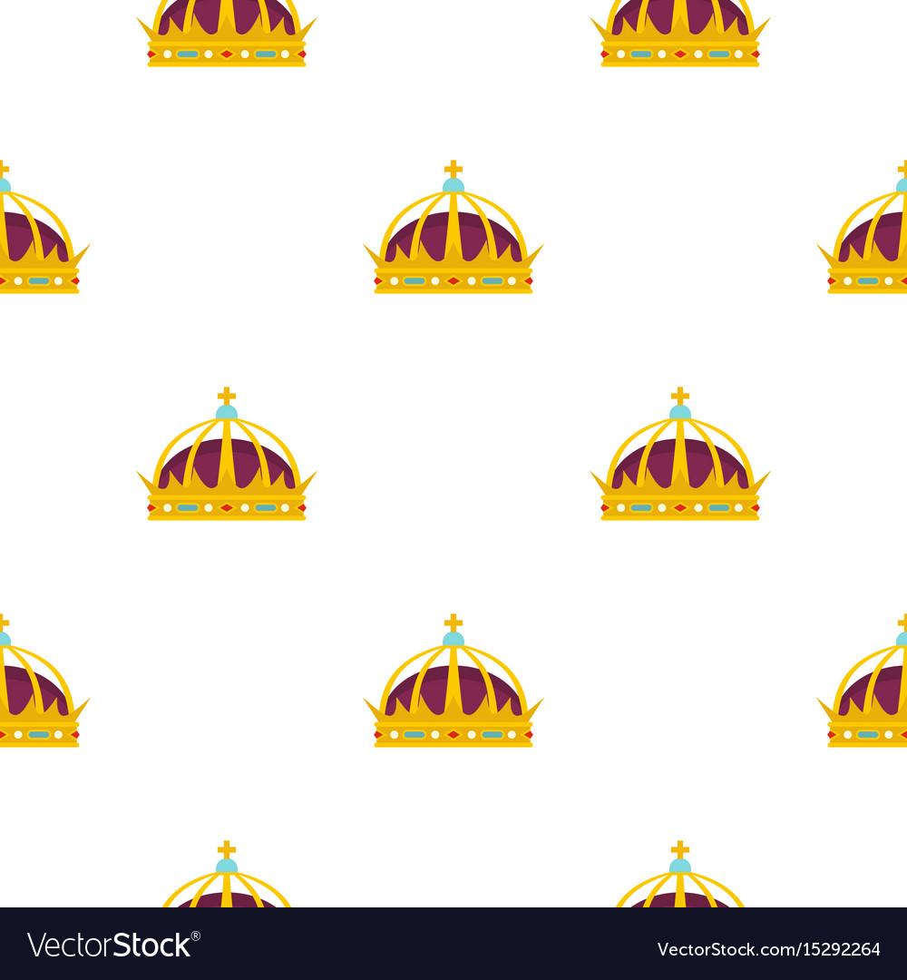 Crown pattern flat