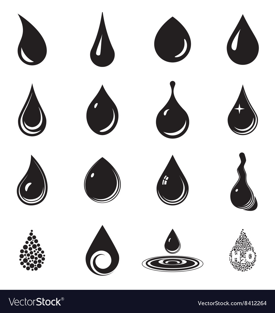 Droplet icons