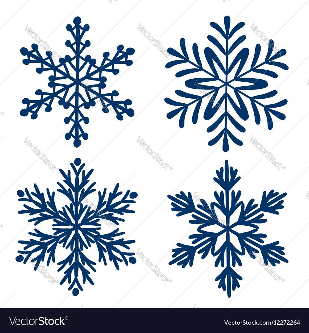 Snowflakes Set of Snowflake handmade