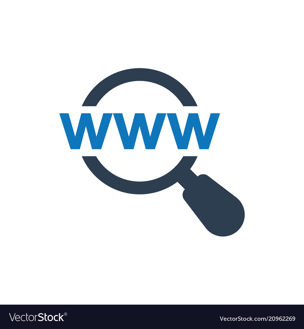 Find web address icon
