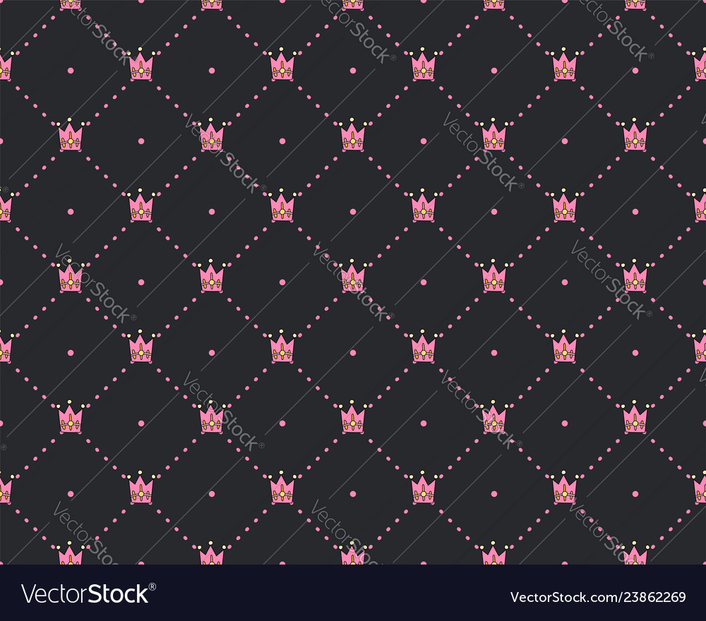 Funny princess pattern with geometrical structure