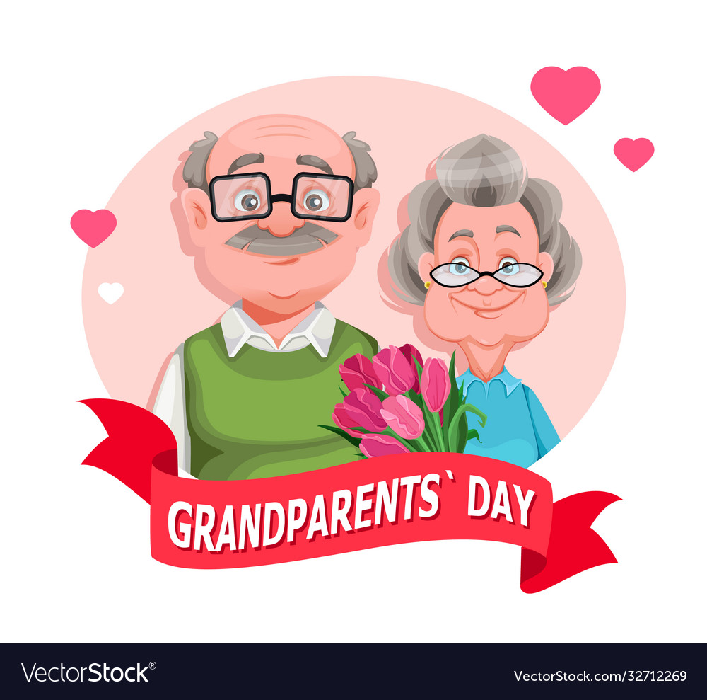 Grandparents day grandmother and grandfather