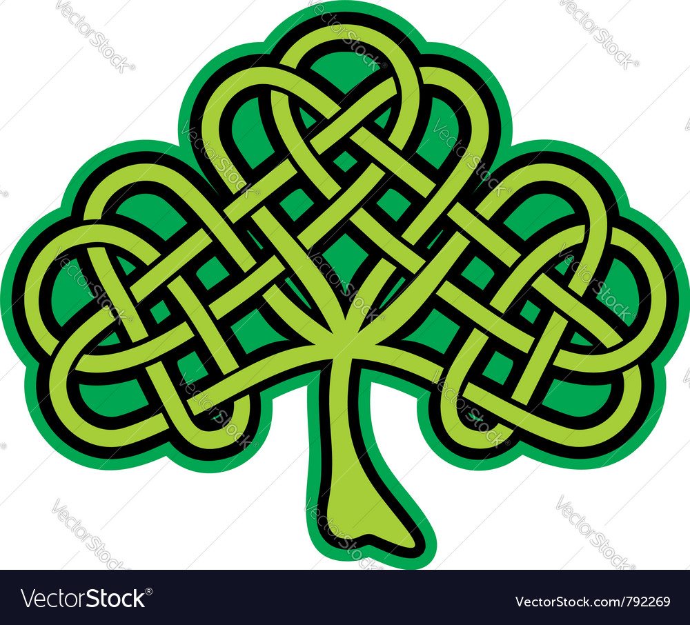 Shamrock celtic tattoo