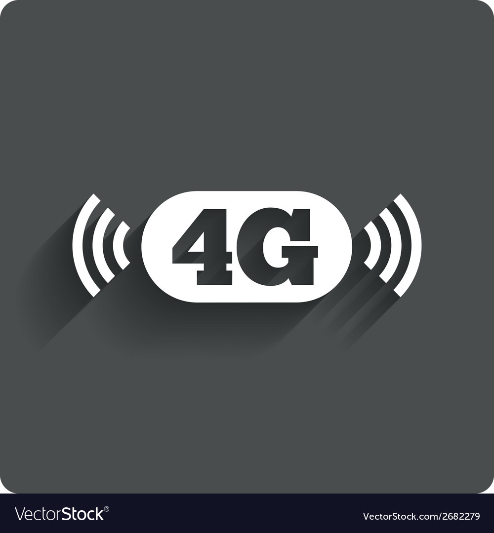4G sign Mobile telecommunications technology