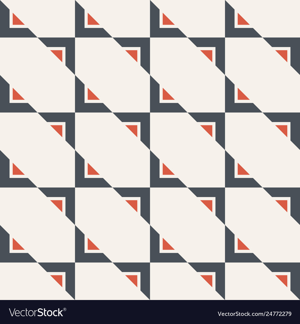 Abstract seamless pattern triangles