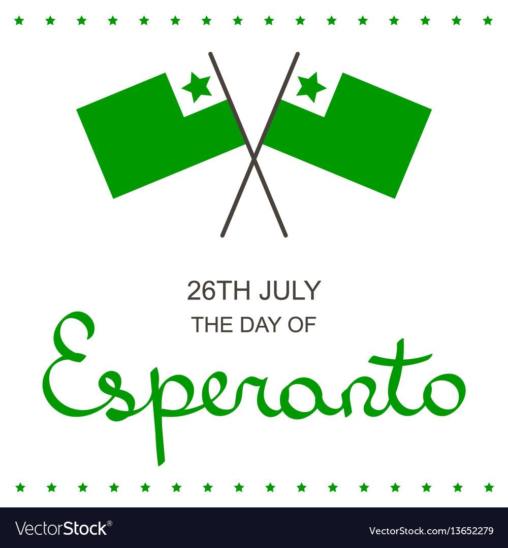 Happy birthday in esperanto