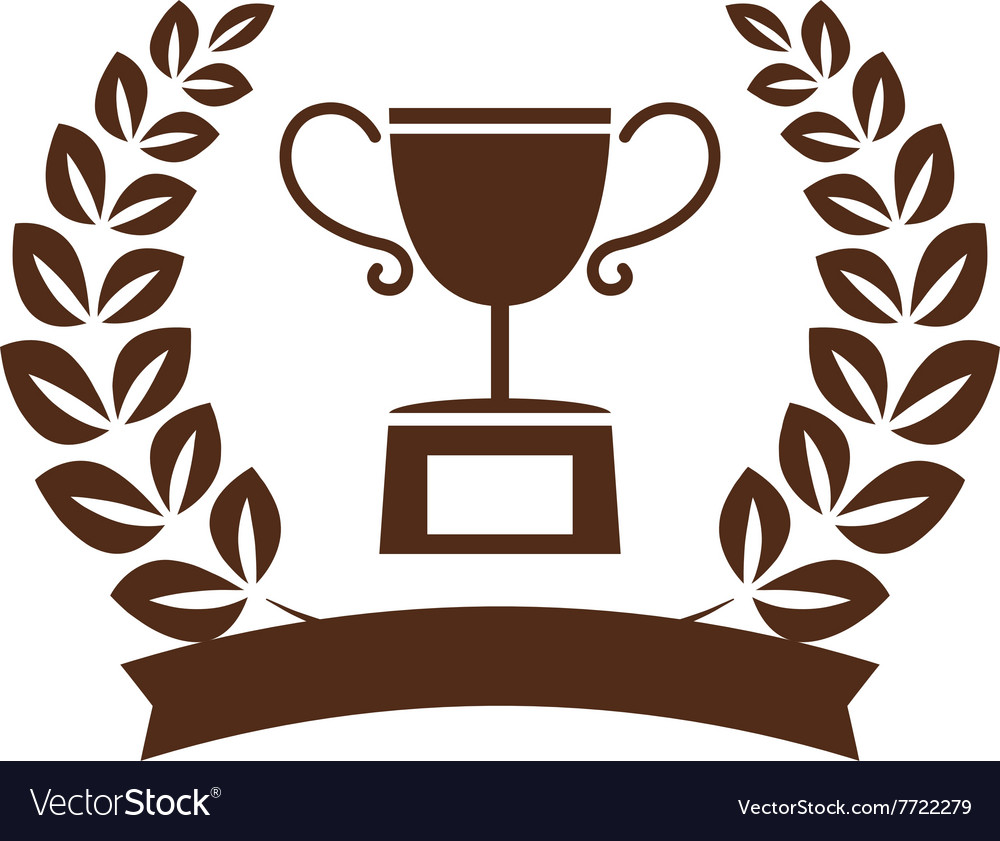 Winner symbol set vector image