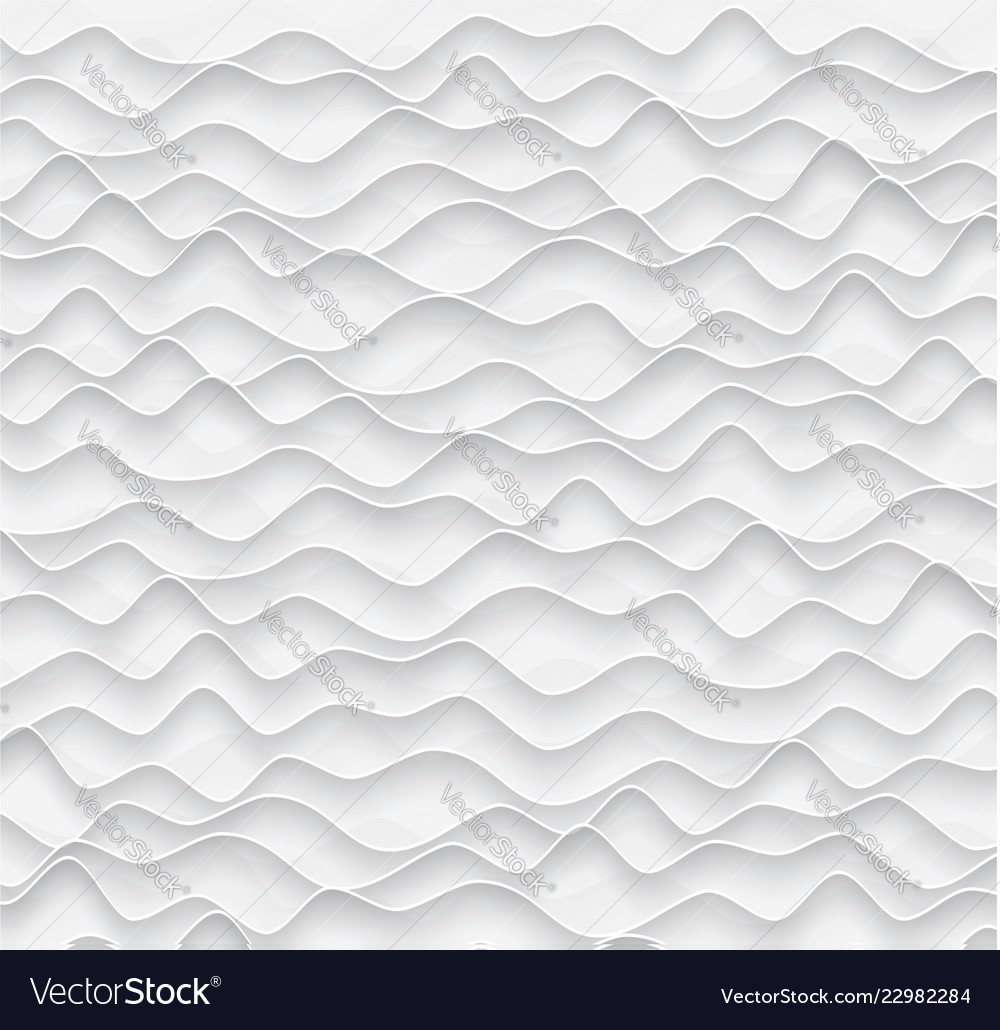 Abstract background from gray paper waves