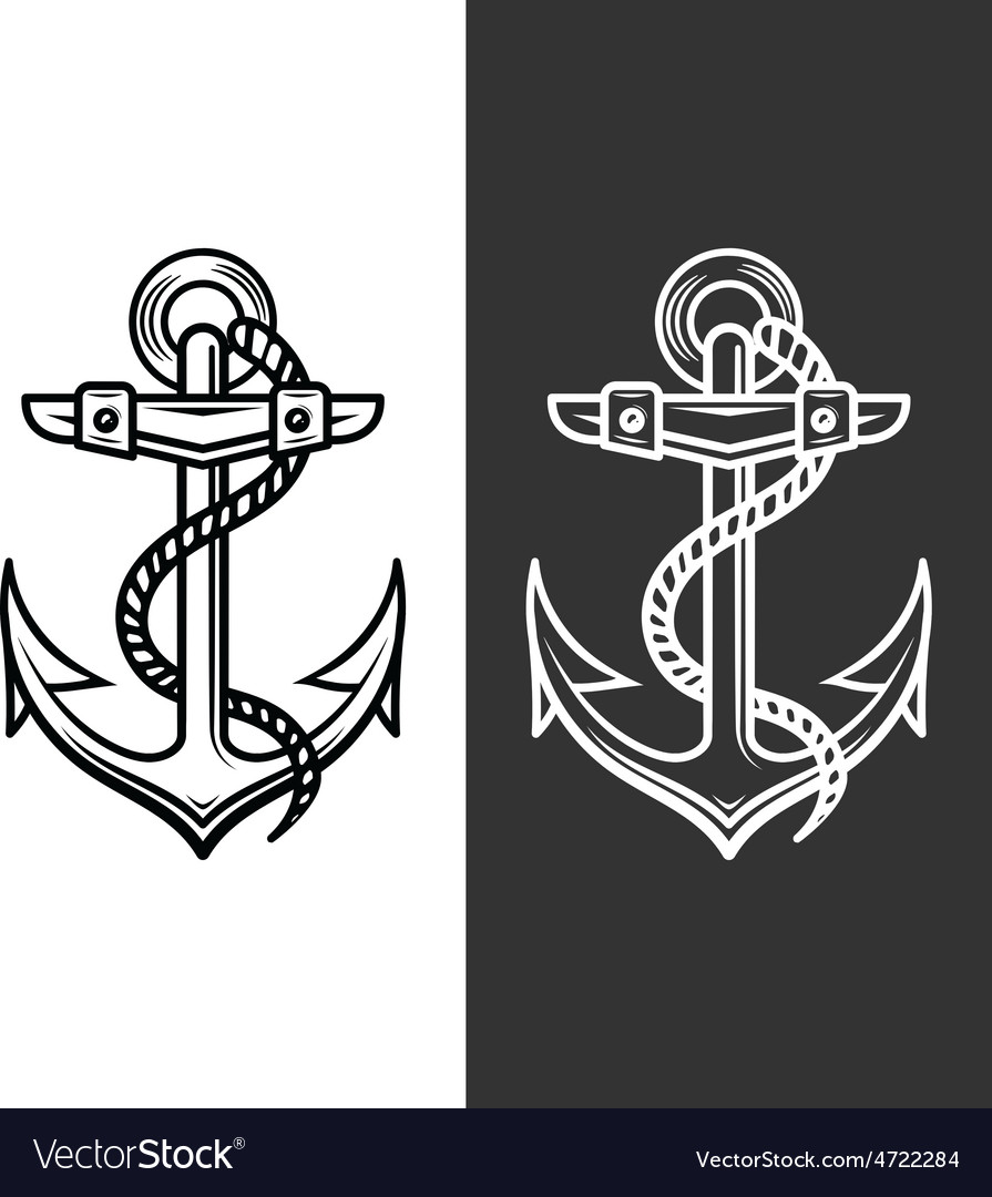 Anchor logo royalty free vector image vectorstock anchor logo vector image thecheapjerseys Images