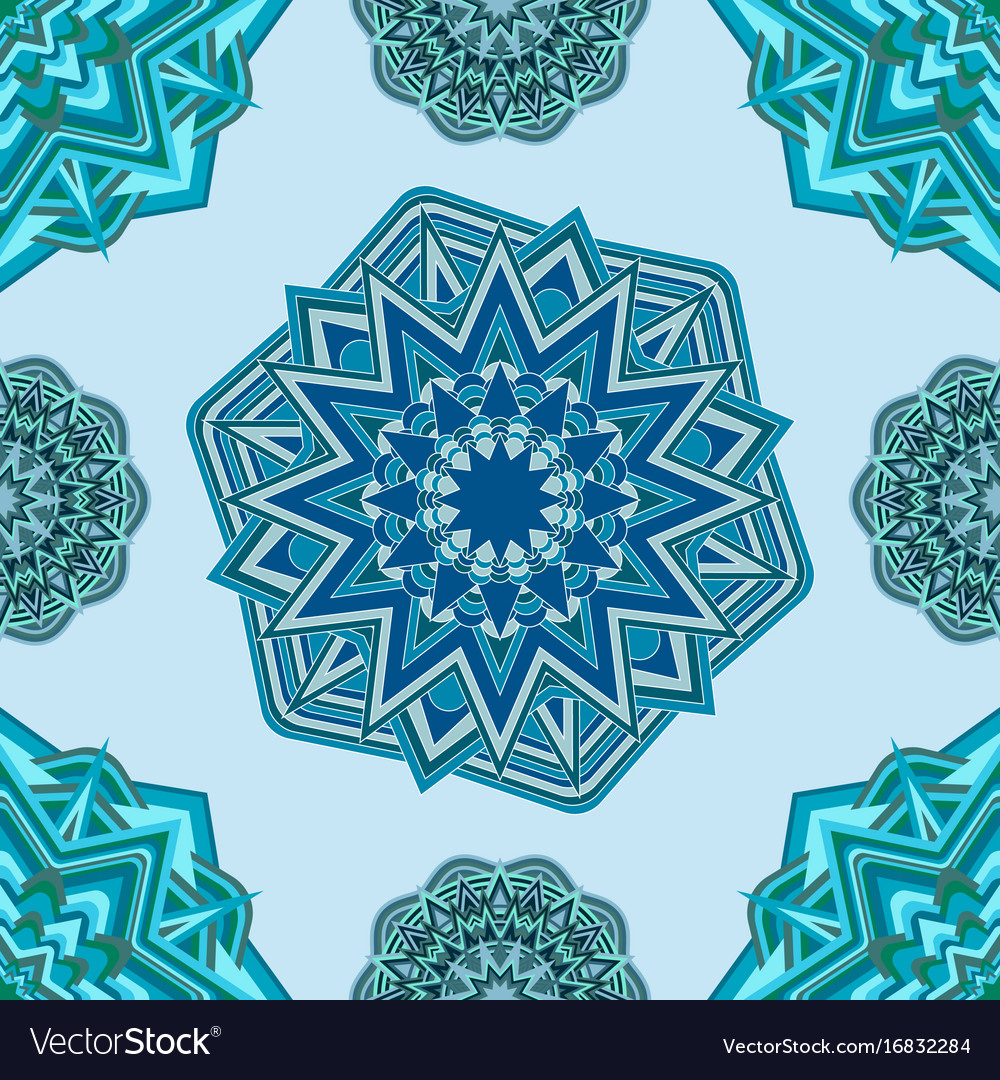 Background with round ornament