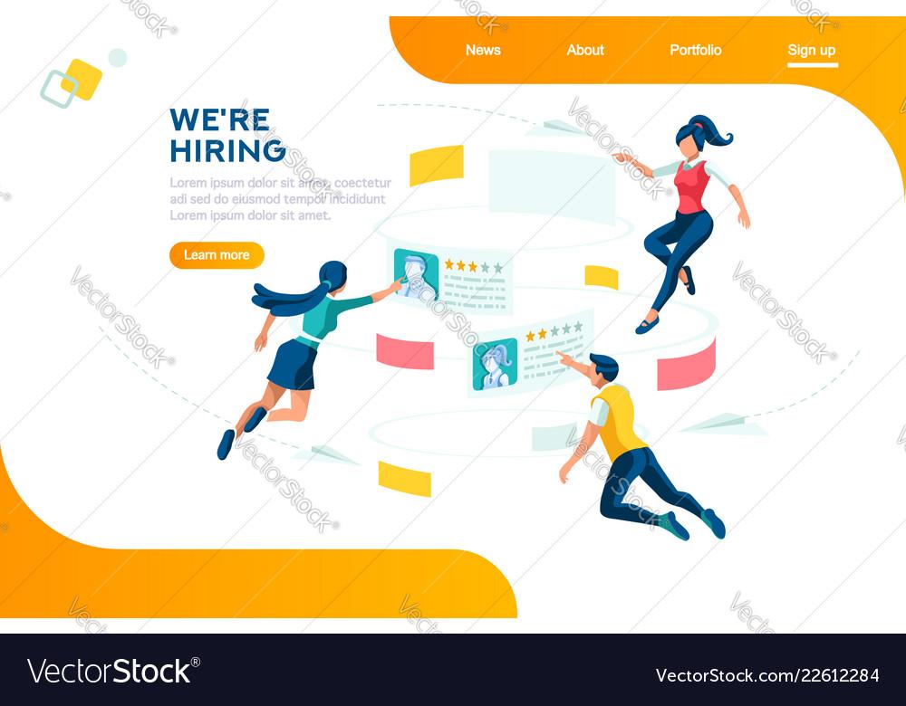 Hiring web recruiting presentation