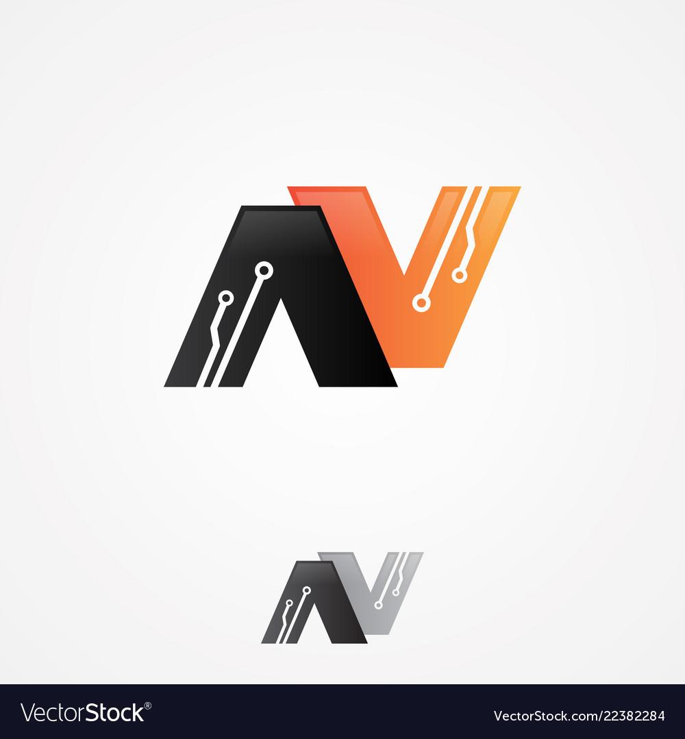 Letter n circuit