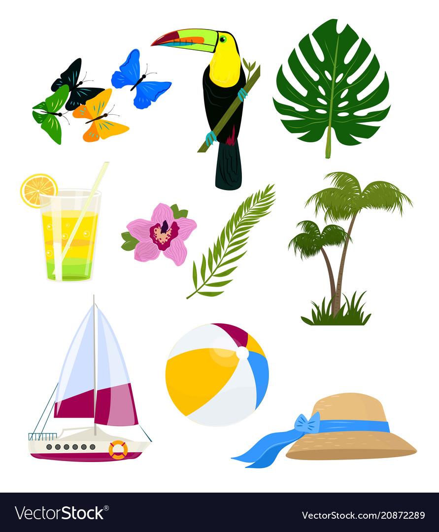 Funny summer logos