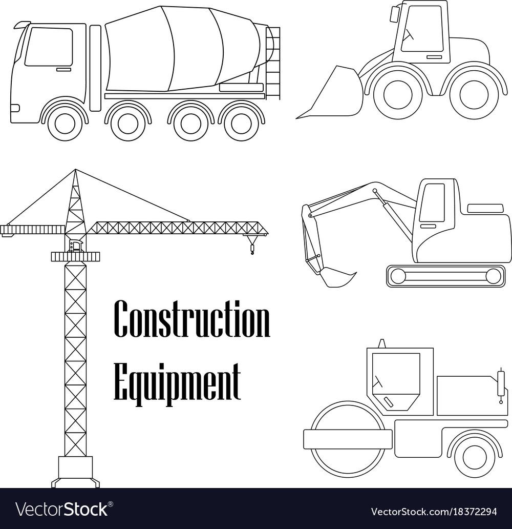 A set of design elements for construction five