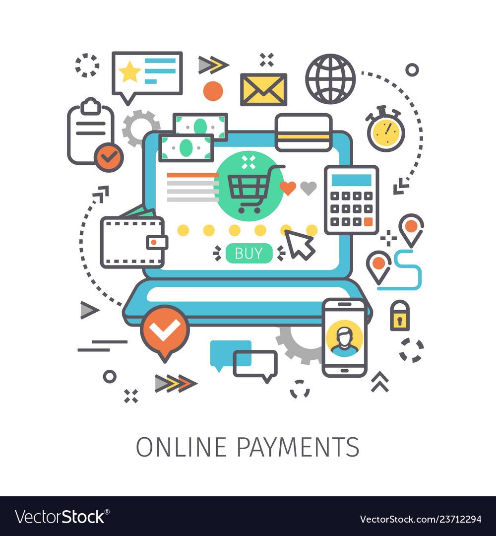 Concept online payments