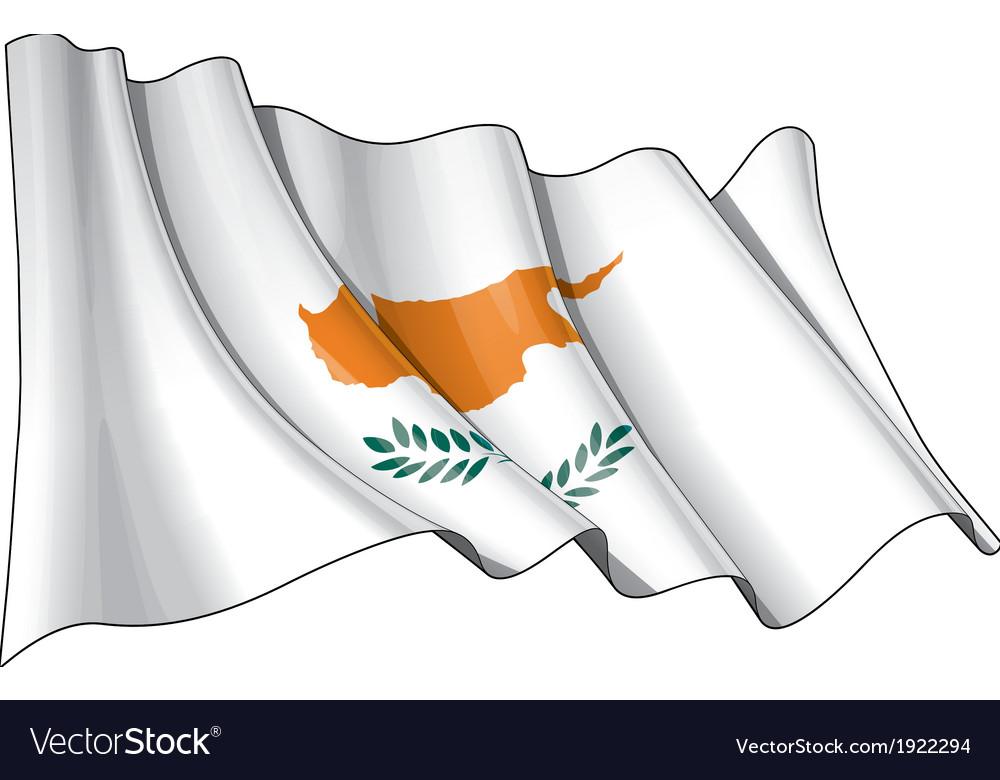 Cyprus flag grunge