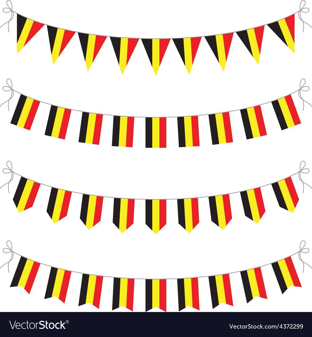 Belgium bunting