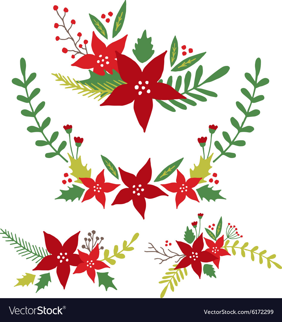 Christmas Flowers Floral Arrangements