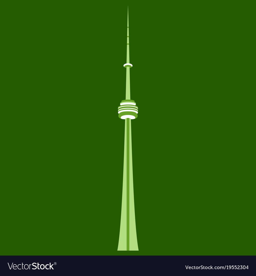 Tv cn tower in toronto famous world landmarks